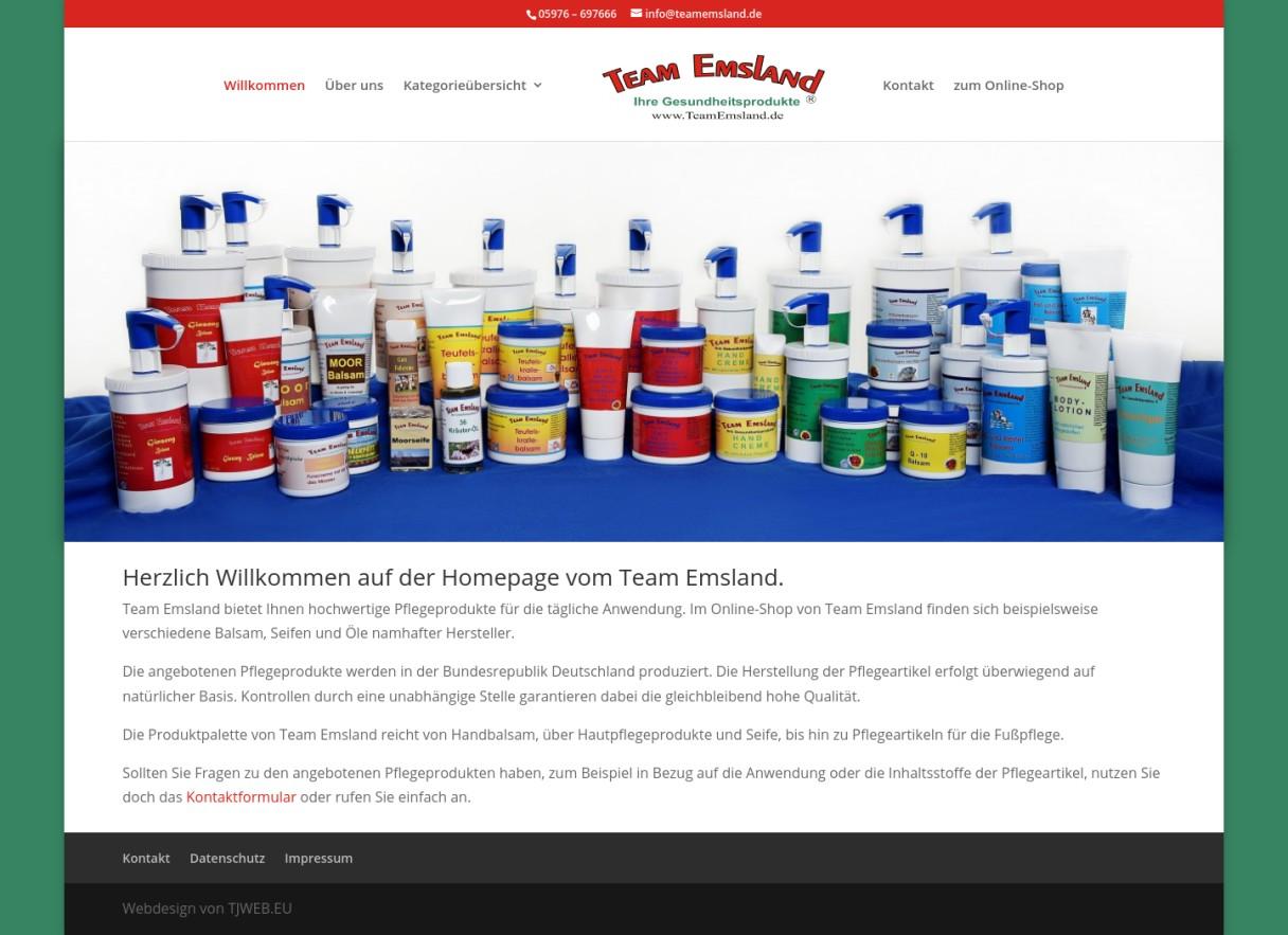 Team Emsland › Ihre Gesundheitsprodukte