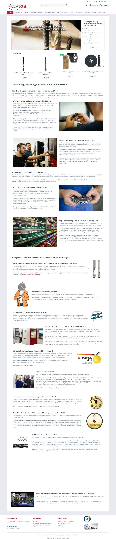 Werkzeug Online-Shop Zerspanwerkzeuge für Metall,
