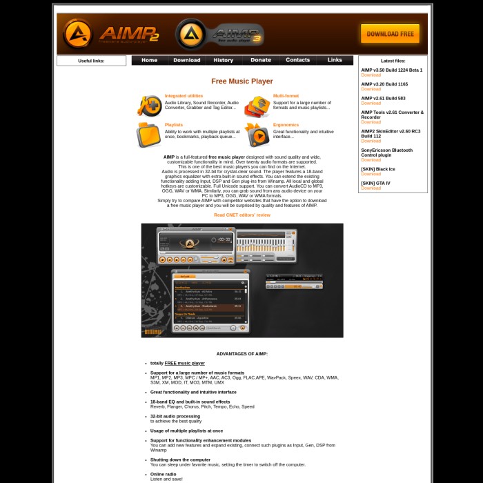 aimp2 media player