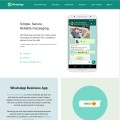 Thumbnail image of WhatsApp app site - by Thum.io