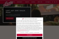 Vorschaubild der Homepage von Aoste
