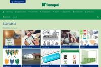 Vorschaubild der Homepage von AT Tempel - Fleischereibedarf und Gastronomiebedarf