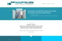 Vorschaubild der Homepage von Befeuchtungssysteme Herbert Hauptkorn