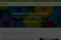 Vorschaubild der Homepage von Bildungszentrum des Einzelhandels Niedersachsen, Springe b. Hannover