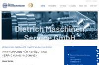 Vorschaubild der Homepage von CH-8353 Dietrich Verpackungsmaschinen + Service
