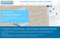 Vorschaubild der Homepage von Duringo Lagertechnik