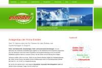 Vorschaubild der Homepage von Kälte- und Klimatechnik von Einöder