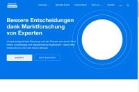 Vorschaubild der Homepage von Dr. Grieger  & Cie. Marktforschung