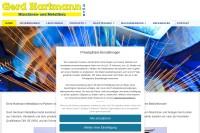 Vorschaubild der Homepage von Maschinen- u. Metallbau Hartmann