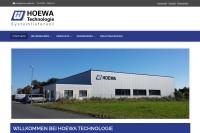 Vorschaubild der Homepage von HOEWA Technologie Behälter- und Filterbau