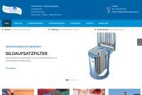Vorschaubild der Homepage von Industrie-Equipment Thomas Rieser