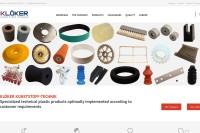Vorschaubild der Homepage von Klöker GmbH - Ersatzteile für die Fleischverarbeitung