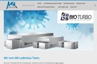 Vorschaubild der Homepage von MK Ladenbau