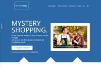 Vorschaubild der Homepage von MysteryPanel.de - Mystery Shopping Agentur