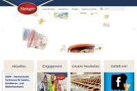 Vorschaubild der Homepage von Stenger-Waffeln