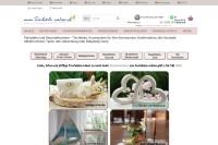 Vorschaubild der Homepage von Tischdekorationen und Accessoires - wunderschön