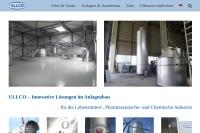 Vorschaubild der Homepage von Ullmann & Co. GmbH - Sprühtrockner und mehr ...