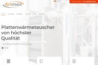 Vorschaubild der Homepage von Dichtungen für Wärmetauscher von ARIMEX