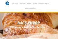 Vorschaubild der Homepage von BACK EUROP DEUTSCHLAND GmbH & Co. KG