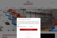 Vorschaubild der Homepage von Döinghaus cutting and more