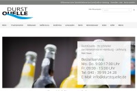 Vorschaubild der Homepage von D-22527 DurstQuelle GmbH - Getränkelieferservice in Hamburg