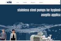 Vorschaubild der Homepage von Edelstahlpumpen von Kyffhäuser Pumpen Artern GmbH