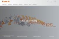Vorschaubild der Homepage von KUKA Systems GmbH