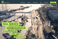 Vorschaubild der Homepage von mantau Werbeagentur