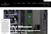 Vorschaubild der Homepage von Kaffee- und Verpflegungsautomaten - Müller Service Systeme
