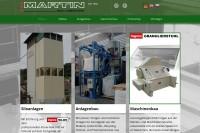 Vorschaubild der Homepage von Anlagenbau MARTIN GmbH