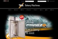 Vorschaubild der Homepage von Bäckereimaschinen von Sinmag Europe