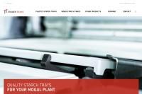 Vorschaubild der Homepage von starch trays für Mogulmaschinen