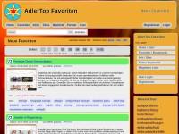 AdlerTop Favoriten: Speicher, Teile und Tagge Deine Favoriten