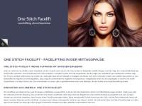 One Stitch Facelift - die schonende Faceliftmethode
