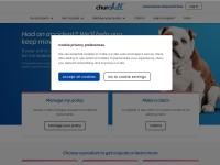 Click here to go to the Churchill Pet Insurance website