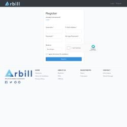 Arbill screenshot