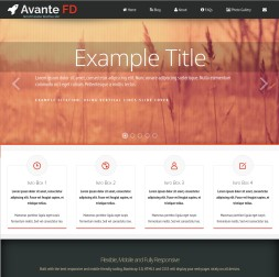 Avante Multi-purpose Website Template