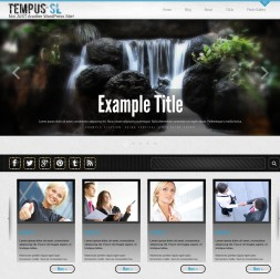 Tempus Multi-purpose Website Template