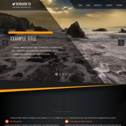 Denmark Multi-purpose Website Template