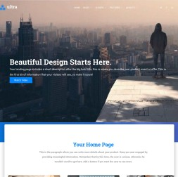 Ultra Multi-purpose Website Template