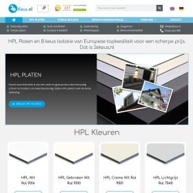 Groothandel In Oude Materialen En Afvalstoffen 2Ekeus.NL B.V.