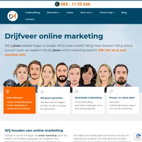 Internetdiensten Webhosting Seo Drijfveer Media SEO consultants voor specifieke internet marketing