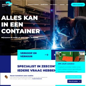 Containers Puincontainers Verhuur Verkoop Hacon Equipment B.V.