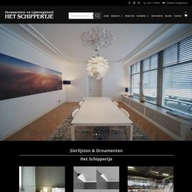 Afbouwbedrijf Afwerkbedrijven Sierlijsten∨namenten Het schippertje Sierlijsten en ornamenten van gips