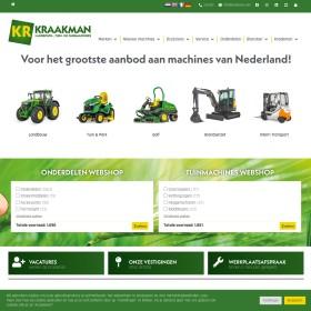 Verhuur Van Landbouw En Bosbouwmachines Kraakman Rental B.V.