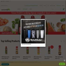Groothandel In Buitenlandse Levensmiddelen Novus Vita B.V.