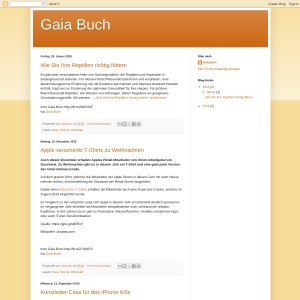 Gaia Buch