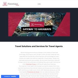 Travel Solutions and Services for Travel Agents - Haramayn Group