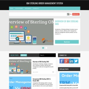 IBM Sterling Order Management System Training