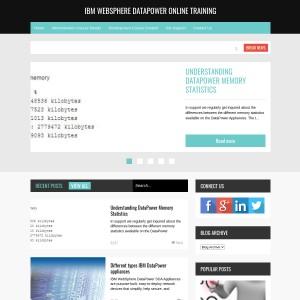 IBM WebSphere DataPower Online Training